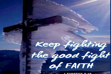 1 timothy 6:12 fight faith